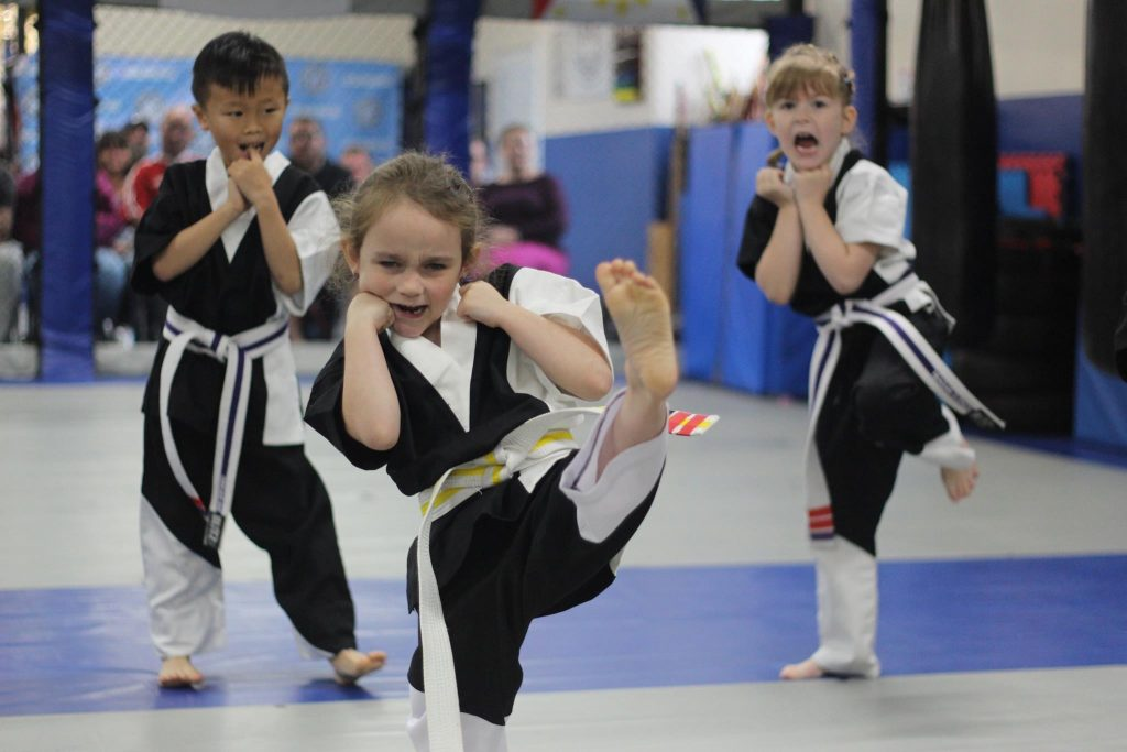 Martial Arts Classes for children aged 7-12 in Plmyouth